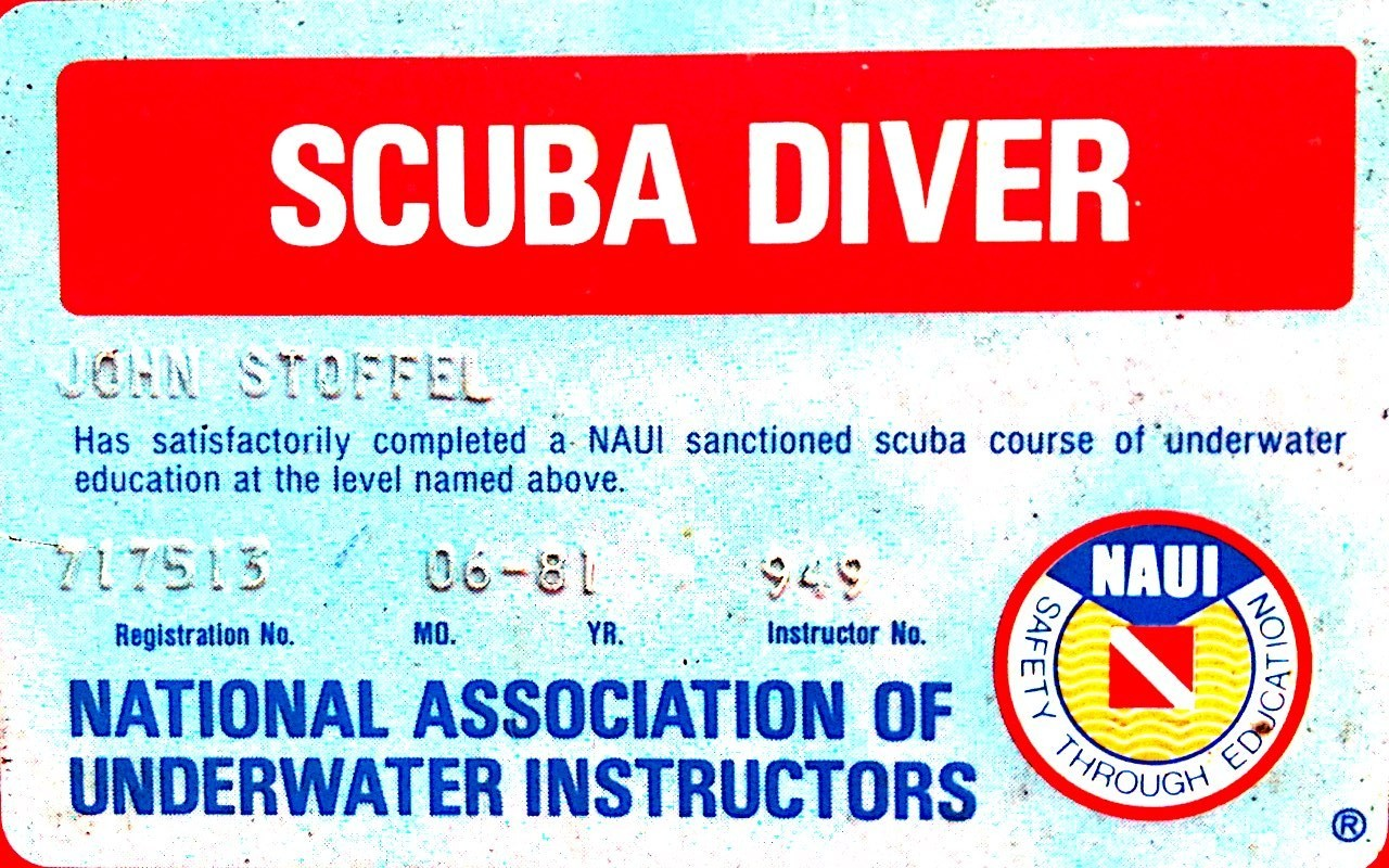 Naui dive card archive naui scuba diver 1betcityfo Image collections