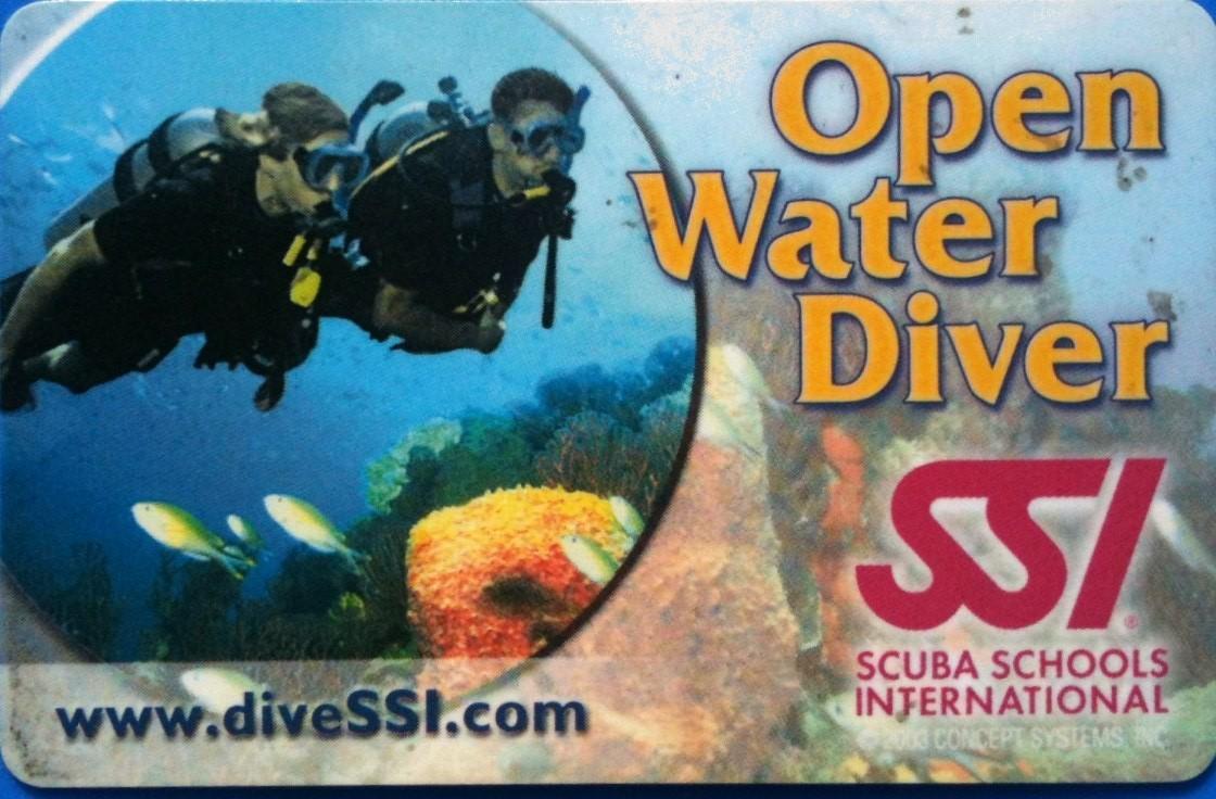 SSI Open Water Elizabeth Killon